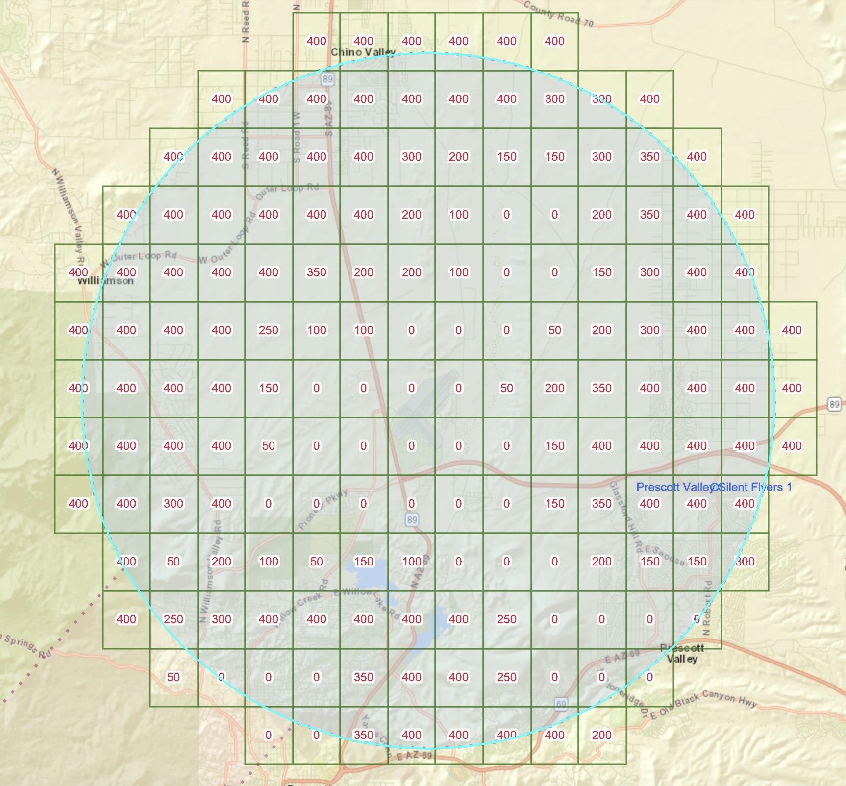 UAS-facility-map
