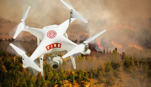 How Can Fire Departments Benefit from Drones?
