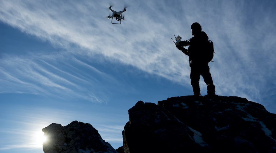 drone pilot and training time