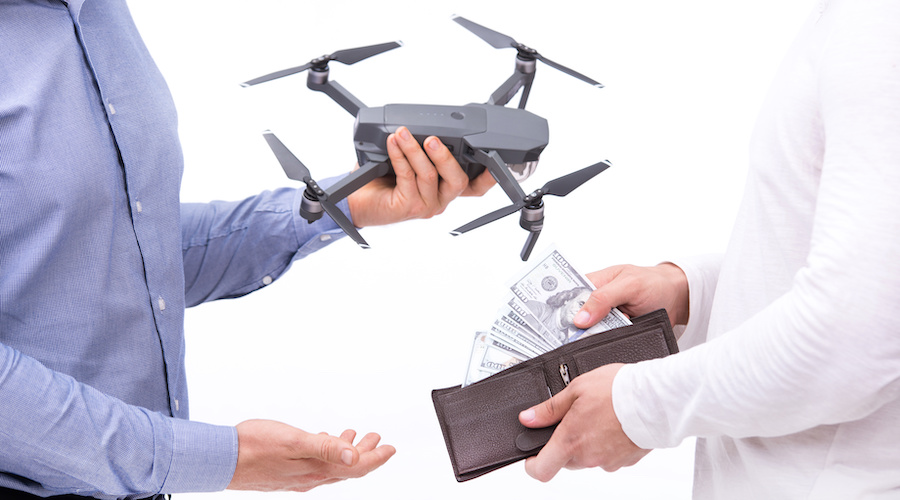 deregister-drone-sell
