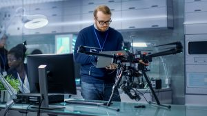 Modern drones can be programmed for autonomous flight