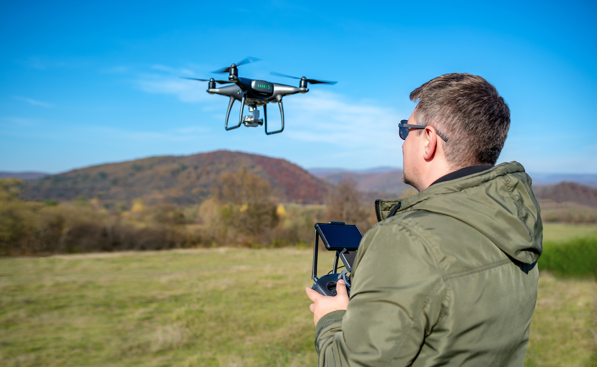 communications between the drone and controller