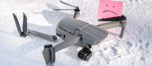 Finding A Lost Drone (Without a Tracker)