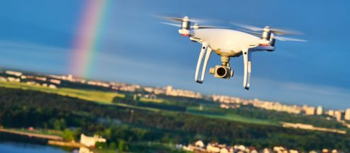 Flying Your Drone in Urban Areas with Heavy Signal Interference