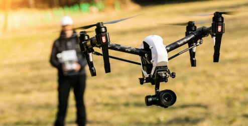 What is Visual Line of Sight (VLOS) for drones?