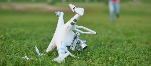 Why It's Important to Retrieve a Crashed Drone
