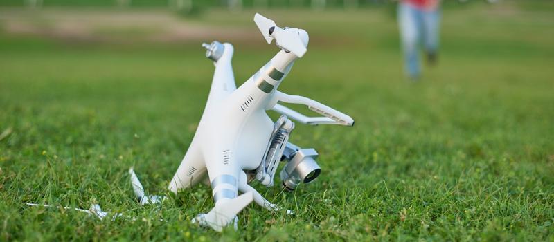 Retrieving-a-crashed-drone