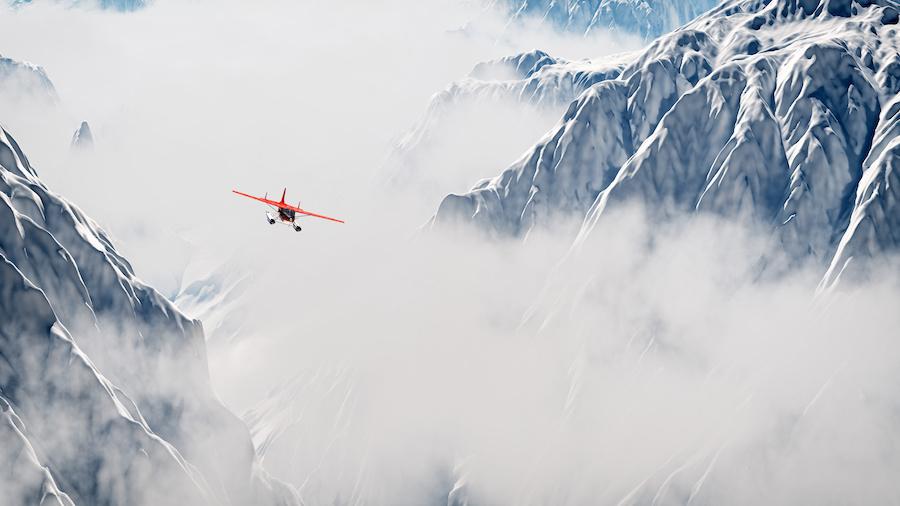 airplane-snow